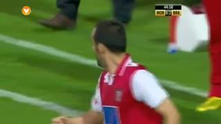GOLO! SC Braga, Aderllan Santos aos 45', Moreirense FC 0-2 SC Braga
