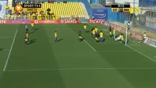 GOLO! Beira Mar, Dani Abalo aos 28', Estoril Praia 0-1 Beira Mar