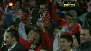 GOLO! SL Benfica, Cardozo aos 33', SL Benfica 1-1 Marítimo M.