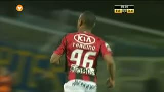 GOLO! SC Olhanense, Targino aos 20', Estoril Praia 1-1 SC Olhanense