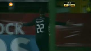 GOLO! Vitória SC, Soudani aos 29', Vitória FC 0-1 Vitória SC
