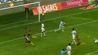 GOLO! Beira Mar, Javier Balboa aos 44', Beira Mar 2-0 Rio Ave FC