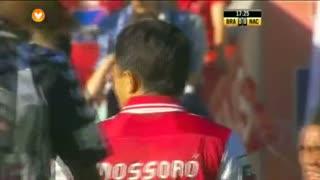SC Braga, Jogada, Mossoró aos 17'