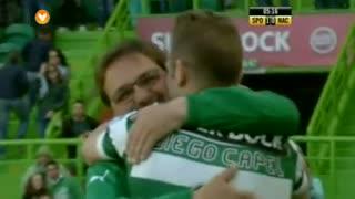 GOLO! Sporting CP, Capel aos 5', Sporting CP 1-0 CD Nacional
