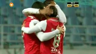 GOLO! SC Braga, Ismaily aos 8', A. Académica 0-1 SC Braga
