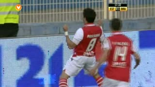 GOLO! SC Braga, Mossoró aos 17', Estoril Praia 0-1 SC Braga