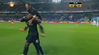 GOLO! A. Académica, Salim Cissé aos 26', A. Académica 1-0 SL Benfica