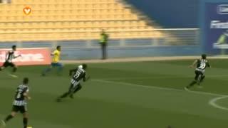 GOLO! Estoril Praia, Luís Leal aos 12', Estoril Praia 3-0 CD Nacional
