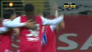 GOLO! SC Braga, João Pedro aos 78', Beira Mar 3-3 SC Braga