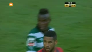 Sporting CP, Jogada, Bruma aos 43'