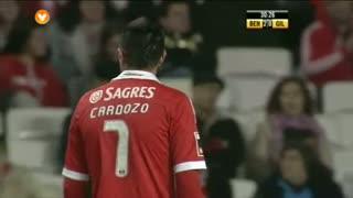 SL Benfica, Jogada, Cardozo aos 31'