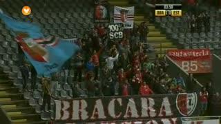 GOLO! SC Braga, Hugo Viana aos 3', SC Braga 1-0 Estoril Praia