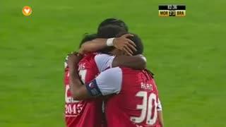 GOLO! SC Braga, Zé Luís aos 83', Moreirense FC 2-3 SC Braga