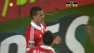 GOLO! SL Benfica, Lima aos 48', SL Benfica 2-0 Vitória FC