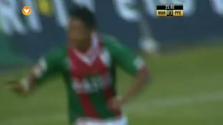 GOLO! Marítimo M., Héldon aos 22', Marítimo M. 1-1 FC P.Ferreira