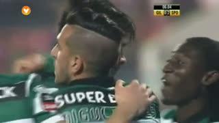 GOLO! Sporting CP, Tiago Ilori aos 6', Gil Vicente FC 0-2 Sporting CP