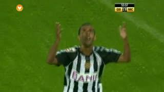 GOLO! CD Nacional, Diego Barcellos aos 54', Vitória SC 1-1 CD Nacional