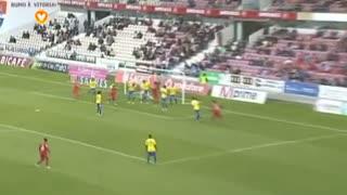 GOLO! Gil Vicente FC, Sandro aos 25', Gil Vicente FC 1-0 Estoril Praia