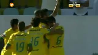 GOLO! FC P.Ferreira, J. Cohene aos 12', FC P.Ferreira 1-0 SC Braga