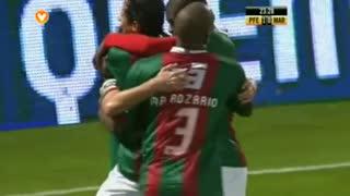 GOLO! Marítimo M., Rafael Miranda aos 23', FC P.Ferreira 1-1 Marítimo M.