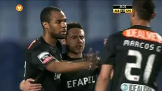 GOLO! A. Académica, Wilson Eduardo aos 24', A. Académica 1-0 Sporting CP