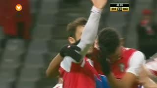 GOLO! SC Braga, Hugo Viana aos 41', SC Braga 1-0 Marítimo M.