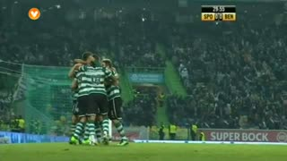 GOLO! Sporting CP, Wolfswinkel aos 30', Sporting CP 1-0 SL Benfica