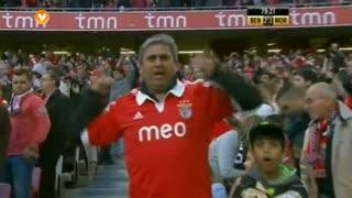 GOLO! SL Benfica, Lima aos 80', SL Benfica 2-1 Moreirense FC