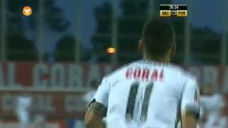 GOLO! CD Nacional, Candeias aos 27', CD Nacional 1-3 FC Porto