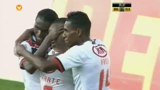 GOLO! SC Olhanense, Ivanildo aos 25', SC Braga 1-2 SC Olhanense