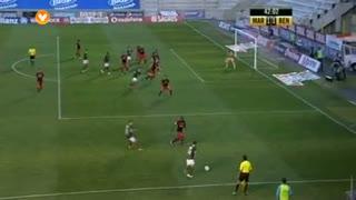 GOLO! Marítimo M., Igor aos 42', Marítimo M. 1-1 SL Benfica