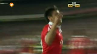 GOLO! SL Benfica, Salvio aos 36', SL Benfica 1-0 Sporting CP