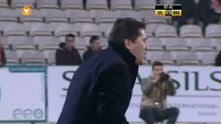 Gil Vicente FC, Jogada, César Peixoto aos 8'