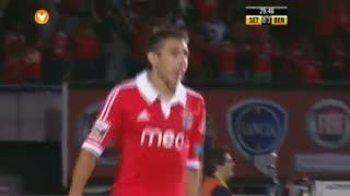 GOLO! SL Benfica, Salvio aos 30', Vitória FC 0-2 SL Benfica