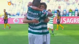 GOLO! Sporting CP, Wolfswinkel aos 28', Beira Mar 0-2 Sporting CP