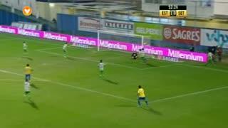 GOLO! Estoril Praia, Evandro aos 53', Estoril Praia 2-0 Vitória FC