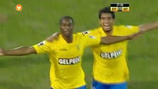 GOLO! Estoril Praia, Luís Leal aos 28', Estoril Praia 1-0 Vitória FC