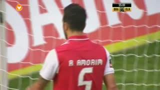 GOLO! SC Olhanense, Ruben Amorim (p.b.) aos 55', SC Braga 2-4 SC Olhanense