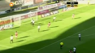 SC Braga, Jogada, Hélder Barbosa aos 2'