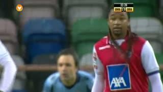GOLO! Beira Mar, Rui Sampaio aos 33', Beira Mar 2-0 SC Braga