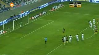 GOLO! Beira Mar, Javier Balboa aos 8', Beira Mar 1-0 A. Académica