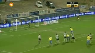 GOLO! Estoril Praia, Steven Vitoria aos 40', Estoril Praia 2-1 Sporting CP