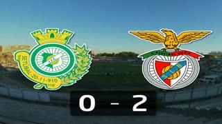 I Liga (14ªJ): Resumo Vitória FC 0-2 SL Benfica