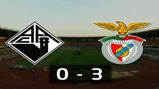 9ª Jornada: Resumo Académica 0-3 Benfica