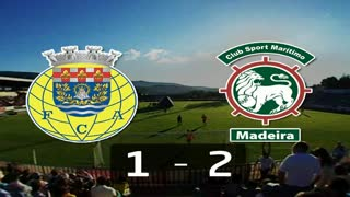 I Liga (11ªJ): Resumo FC Arouca 1-2 Marítimo M.