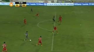 SC Braga, Jogada, Rafa Silva aos 17'