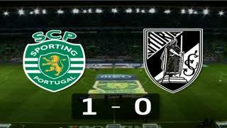 I Liga (25ªJ): Resumo Sporting CP 1-0 Vitória SC