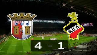 Liga (11ª Jornada): Resumo Sp. Braga 4-1 Olhanense