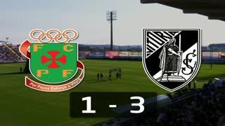 I Liga (8ªJ): Resumo FC P.Ferreira 1-3 Vitória SC