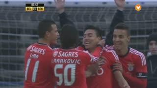 GOLO! SL Benfica, Gaitán aos 7', Belenenses 0-1 SL Benfica